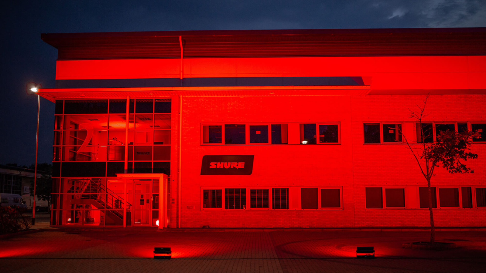Shure Goes Red to Support Live Events Industry