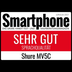 Smartphone_Shure MV5C