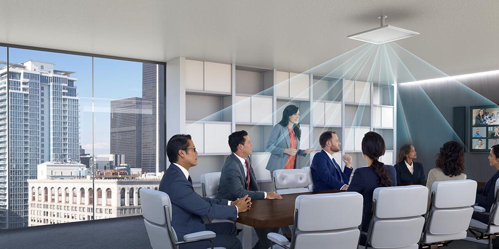 Achieve Invisible Audio with the MXA910 Ceiling Array Microphone
