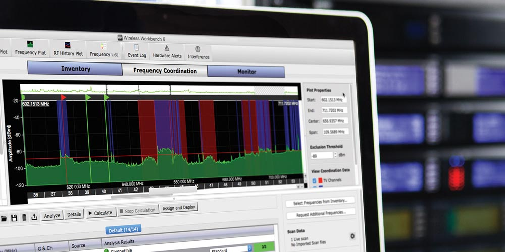 April Webinar:  Frequency Coordination for Wireless Systems