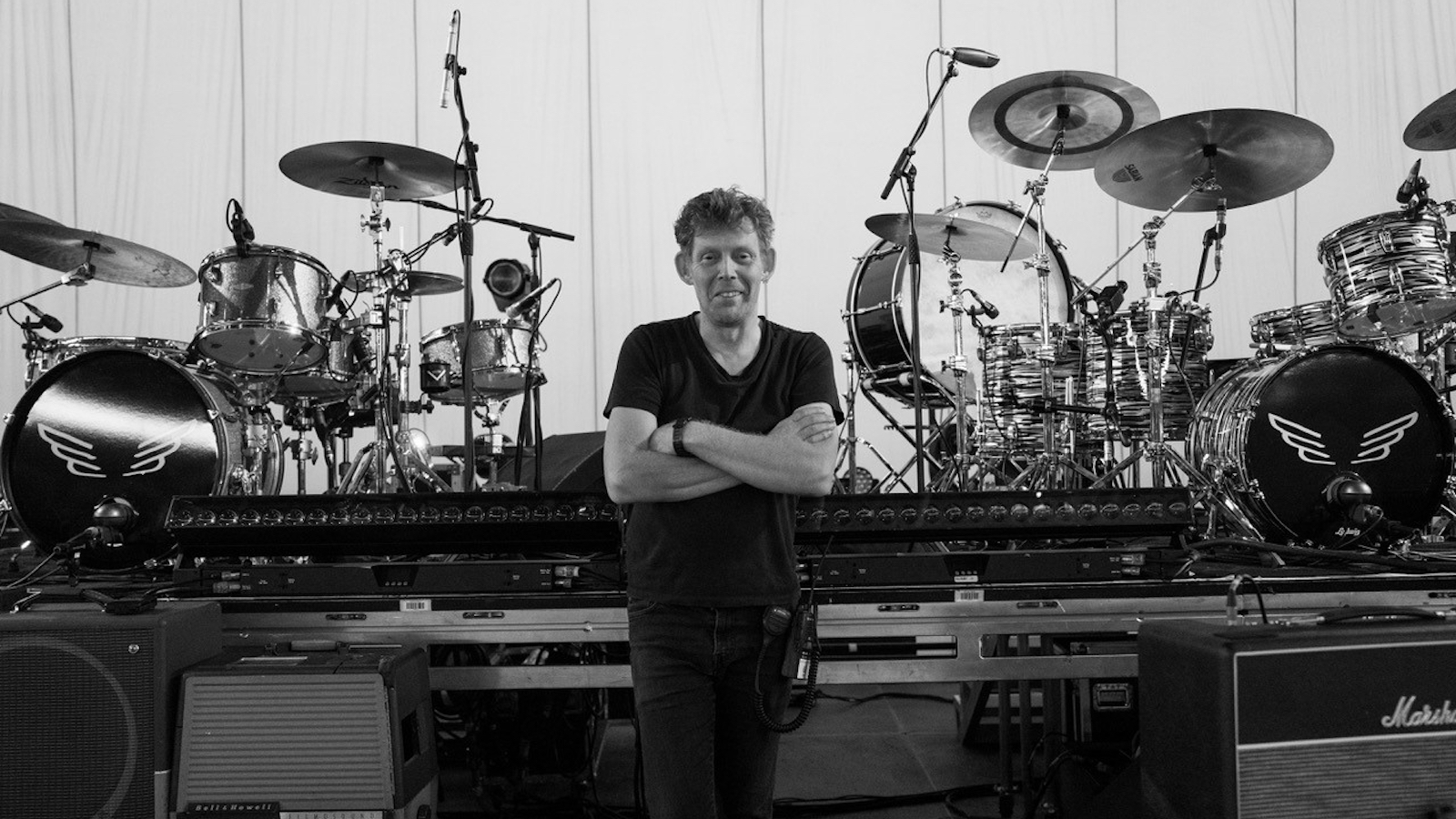 Busy as Folk: Wrangling Drums for Mumford & Sons