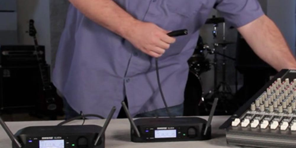 Getting Started with GLX-D Digital Wireless – Part 1: Basic Setup
