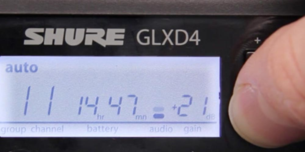 Getting Started with GLX-D Digital Wireless – Part 3: Adjusting Gain