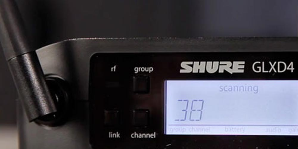 Getting Started with GLX-D Digital Wireless – Part 5: Scan and Frequency Changes