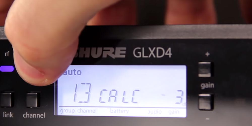GLX-D Digital Wireless: How to Optimize Your System