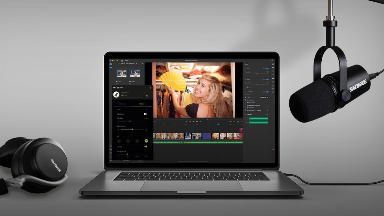 Grabación sencilla y fácil con audio profesional