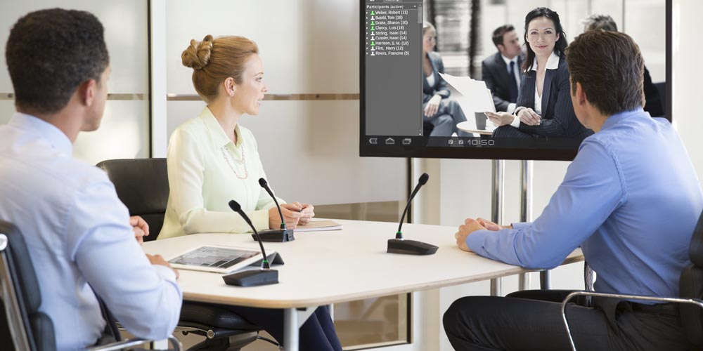 How Does Echo Cancellation Work During a Video Conference?
