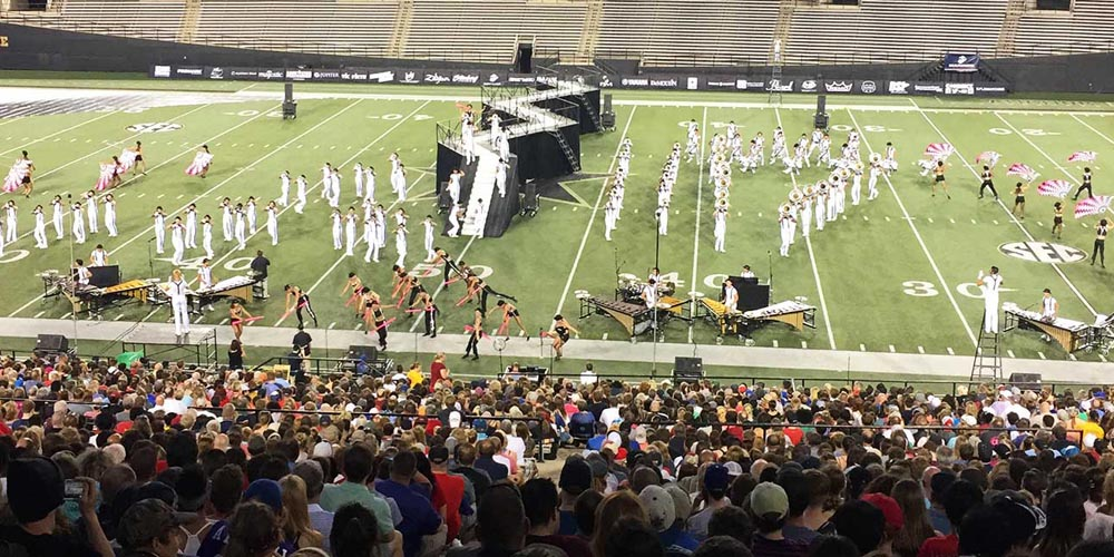 Improving Drum Corps Performance with Wireless Audio