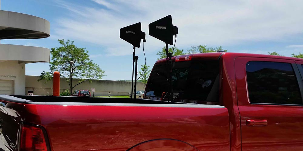 Intellasound's Point-to-Point Wireless at Madison's Rhythm and Booms