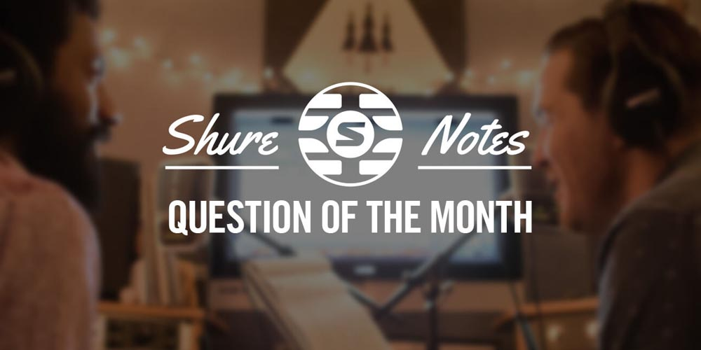 Lightning Cables for Shure Earphones: September 2016 Question of the Month