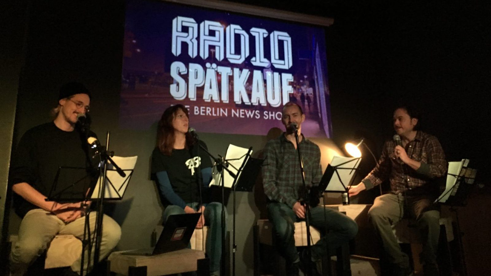 Live Podcasting: Taking Talking to the Stage