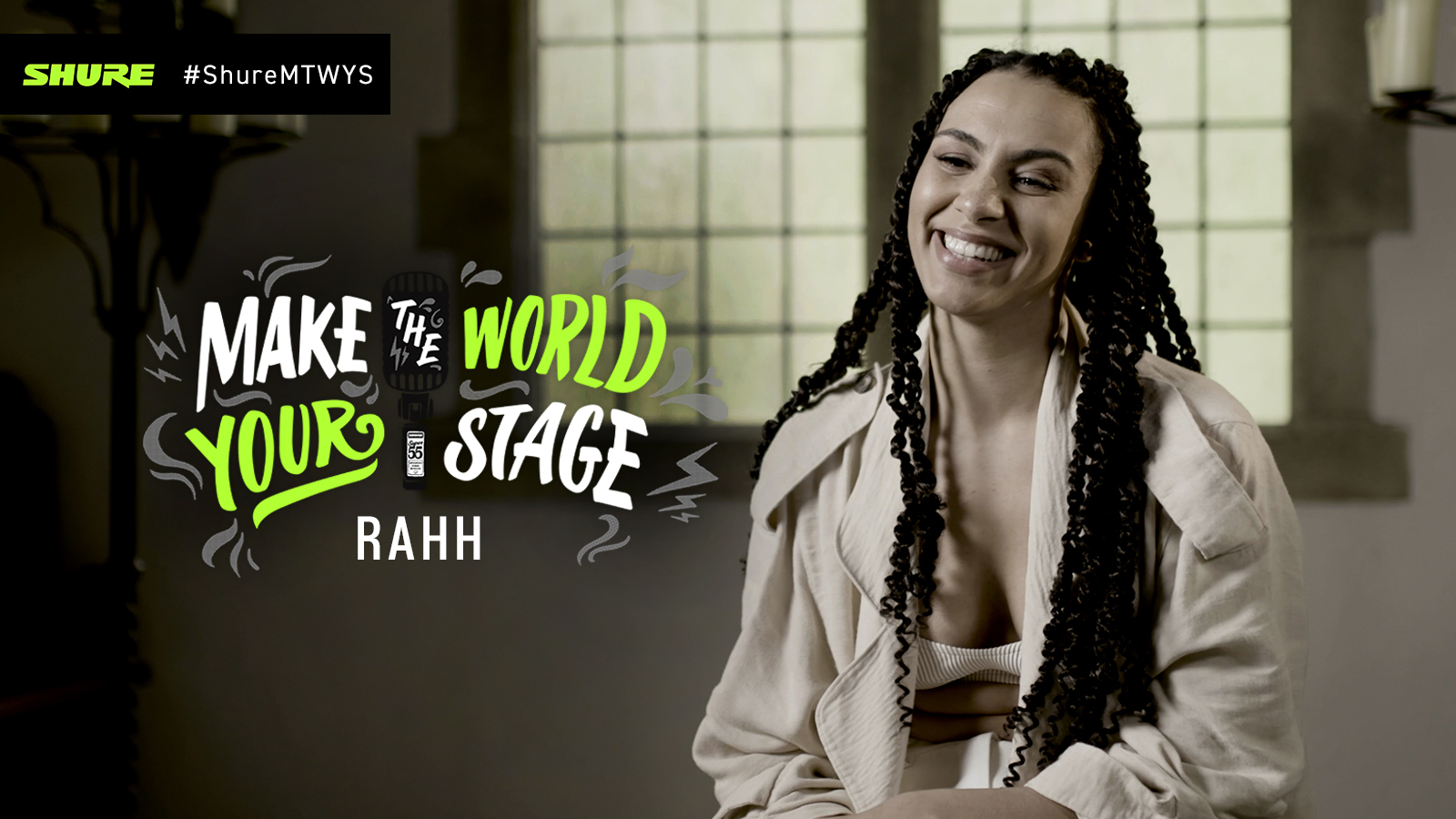 Make The World Your Stage: RAHH mit 'Okay'