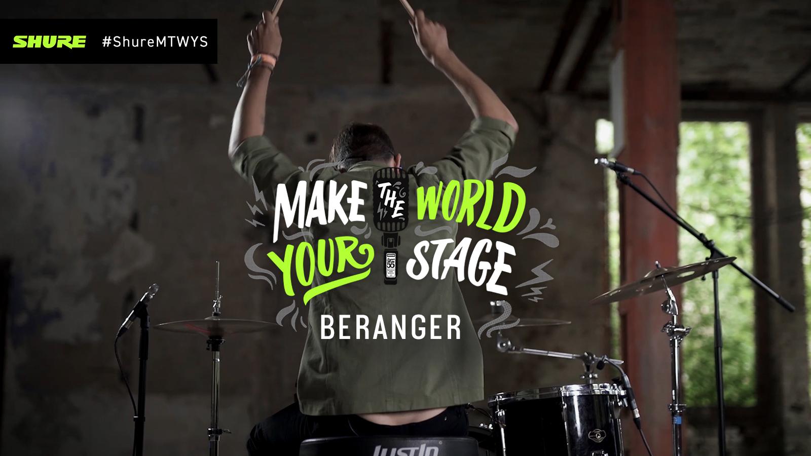 Make The World Your Stage mit Beranger