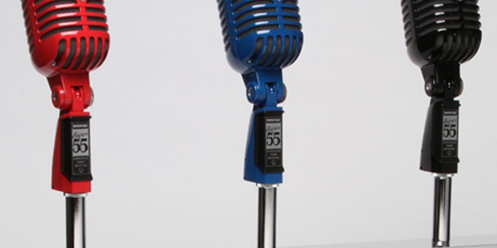 Microphone Makeovers: The Many Looks of Shure Mics
