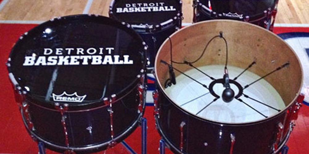 Raising the Roof: Amplifying the Detroit Pistons Drumline