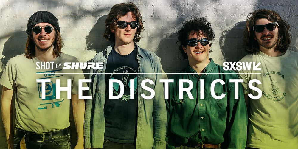 Shot by Shure: The Districts