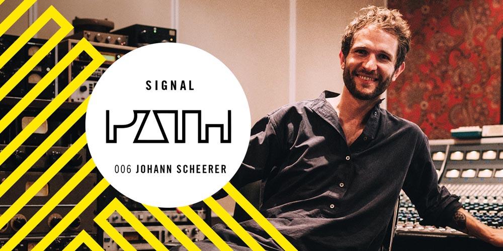 Shure Signal Path Podcast: Johann Scheerer