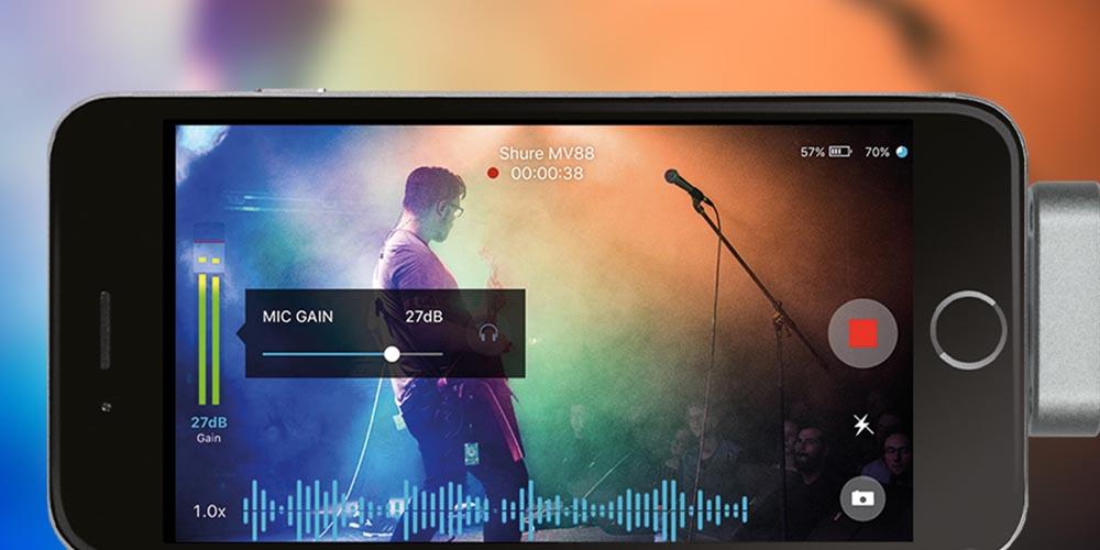 ShurePlus MOTIV Video: 'Filming with Great Audio Was Never Easier'