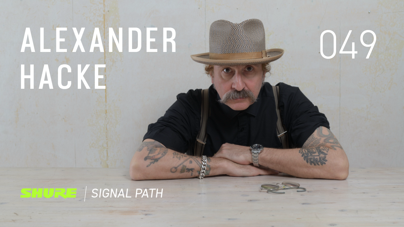 Signal Path Podcast: Alexander Hacke