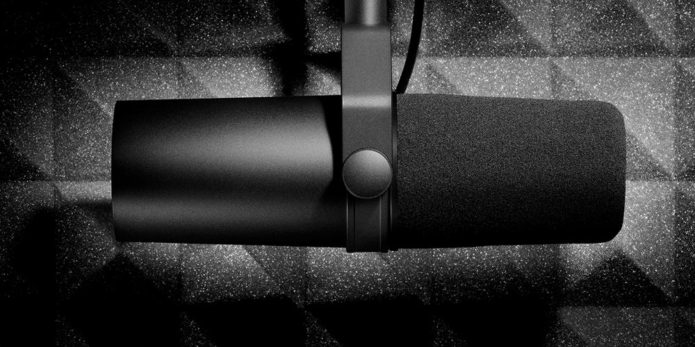 SM57 on Steroids: The Shure SM7(B) Story