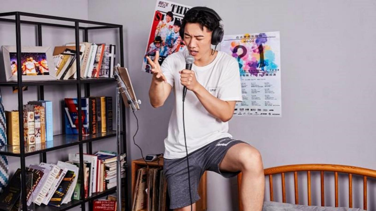 宅家嗨唱明星范儿,SM58高能!