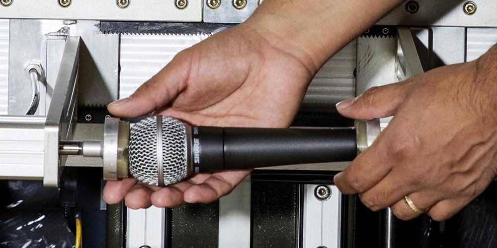 Surviving the Shure Microphone Test Gauntlet: Sweat, Extreme Heat, and More