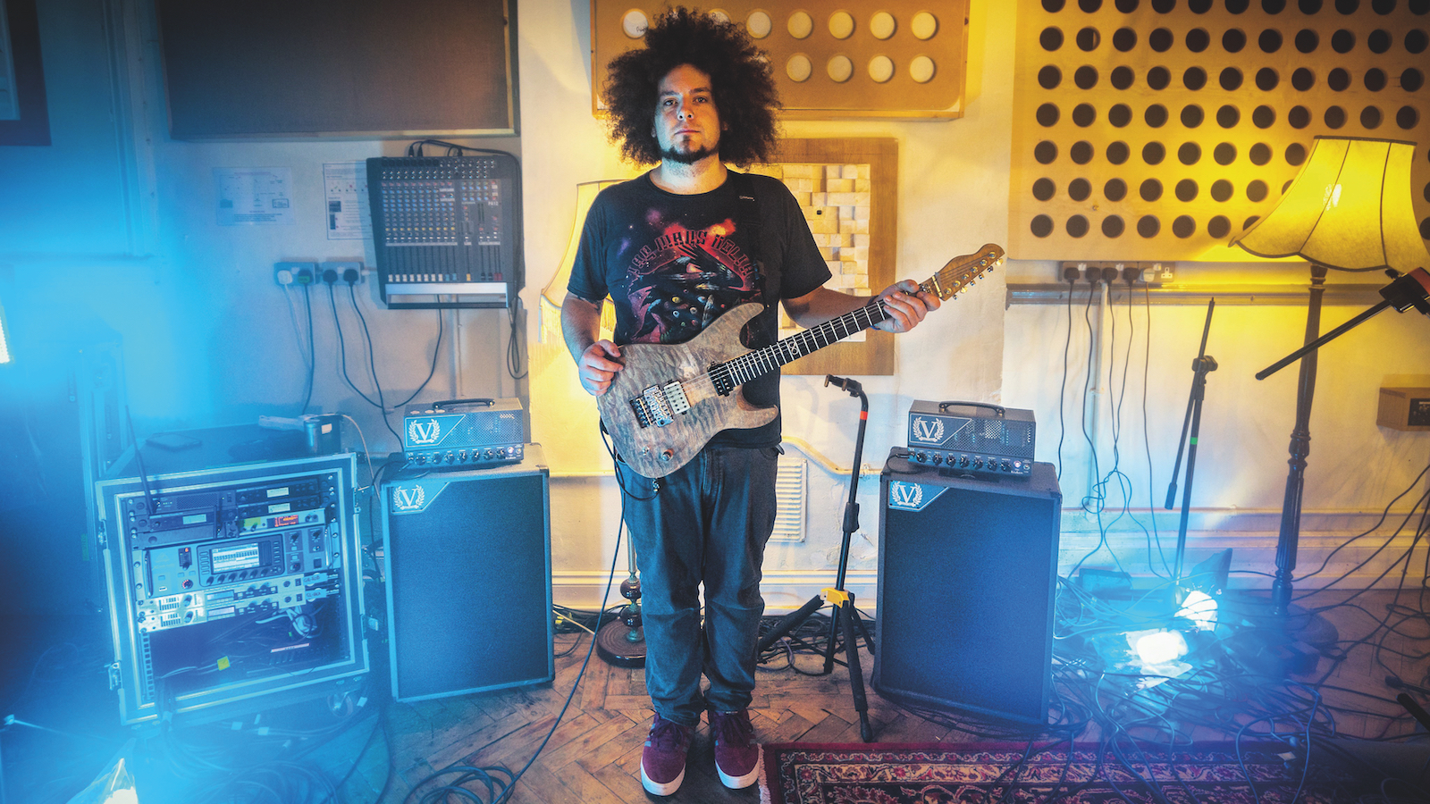 The 5 Favorite Amps of Rabea Massaad