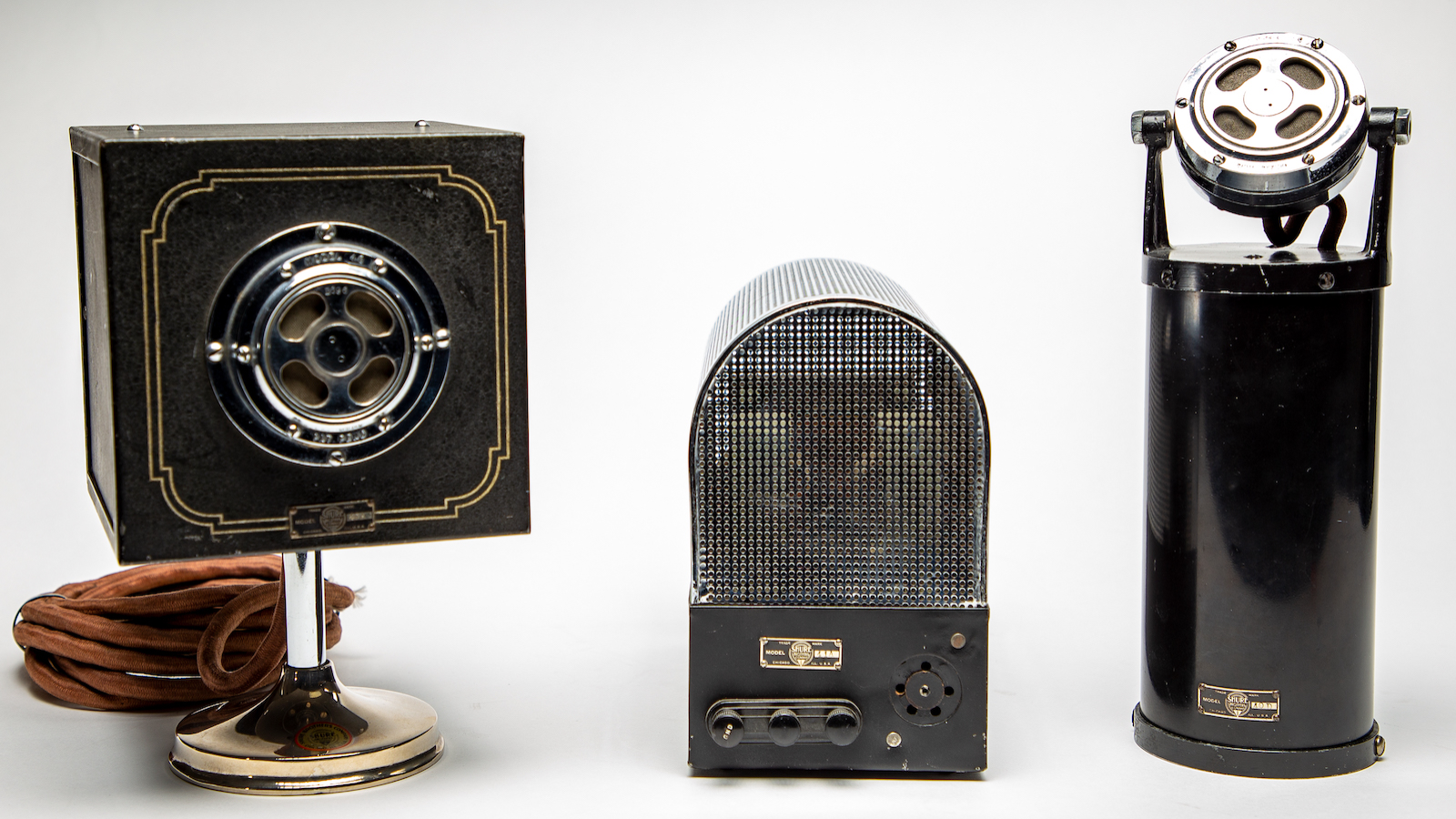 The History of Condenser Microphones and Artifacts from the Shure Archives