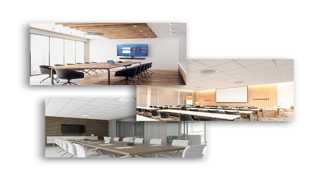 Conference Room Audio and a Control Device