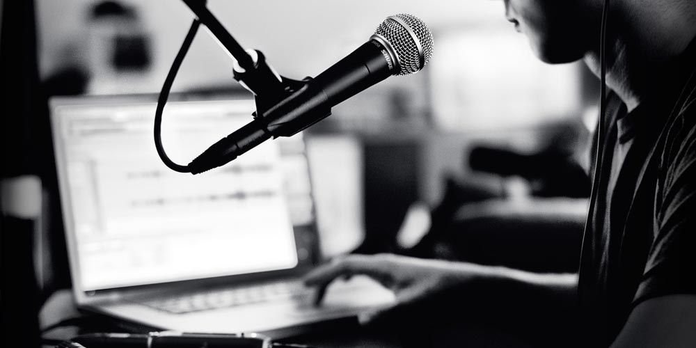 Using a Professional Microphone with a Laptop