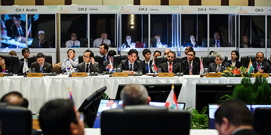 Shure conferencing network powers 7th Asian Ministerial Energy Roundtable