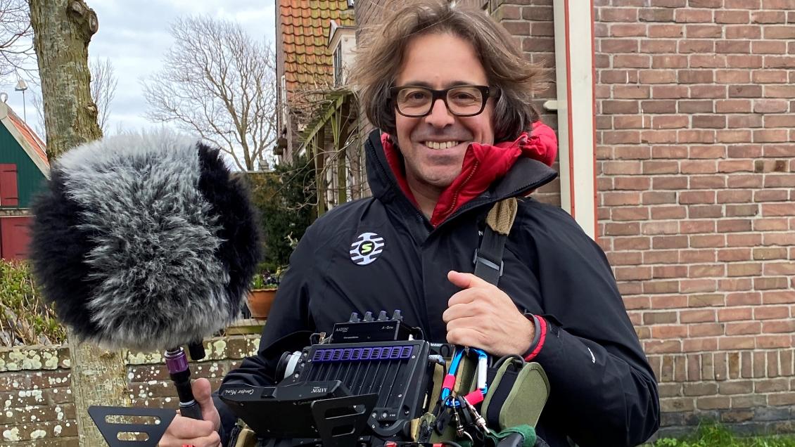 Dave Frederking maakt als eerste in Nederland gebruik van de ADX5D