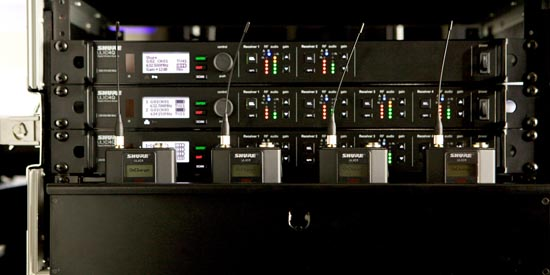 Department of Theatre Arts at State University of New York (New Paltz) Upgrades with Shure ULX-D® Digital Wireless