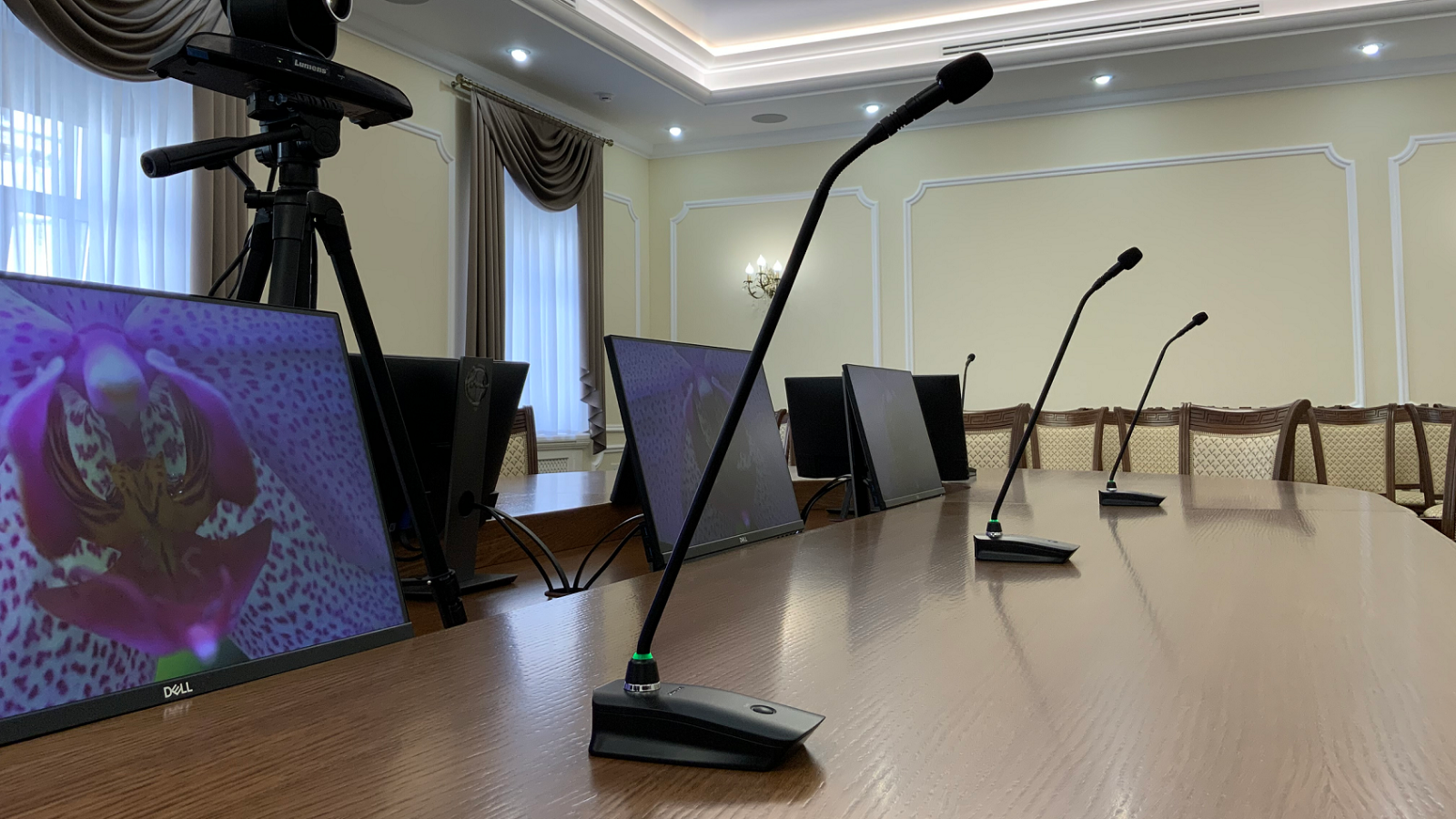 Shure provides audio solutions for the National Situation Centre in Russia