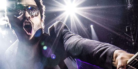 Shure Axient at Lenny Kravitz Strut Tour of Europe