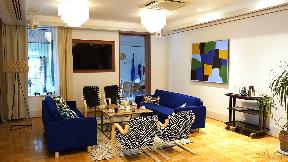 【官公庁】 駐日フィンランド大使館様   Dante接続に対応したデジタル・ワイヤレスによって、音質と美観の両方を向上   Microflex Wireless