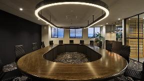 グループ帯広本社の役員会議室