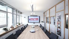 Modernisierte Konferenztechnik – Shure MXA710 & MXA910 bei edding