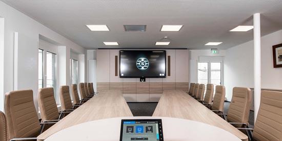 Neuland & G+B Medientechnik Leverage Shure's Microflex Advance Ceiling Microphones