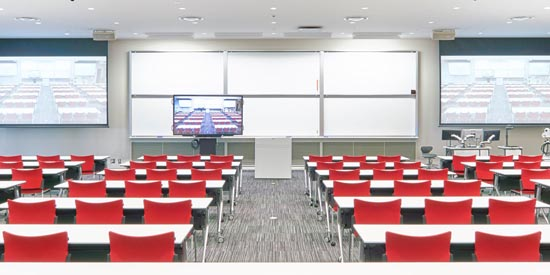 Osaka Ibaraki Campus Installs MXA910 Ceiling Array Microphone For Sound Reinforcement In State-of-the-art Seminar Room