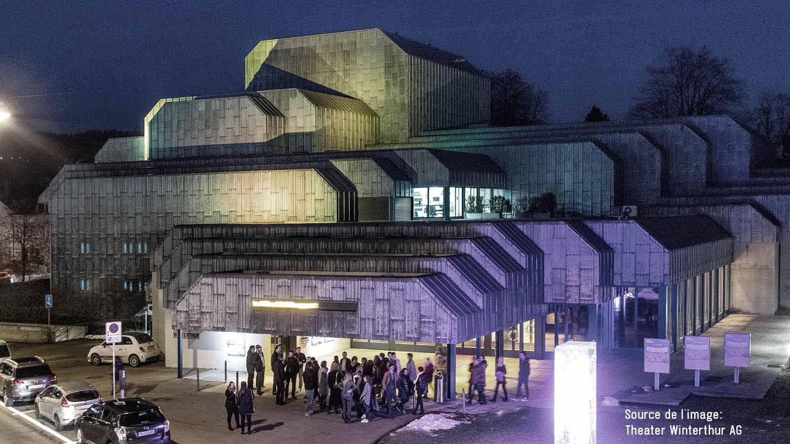 Innovation radicale - Un système Shure Axient Digital ADX au théâtre de Winterthur