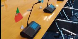 Shure Microflex® Complete Wireless na Delegação da União Europeia no Chile