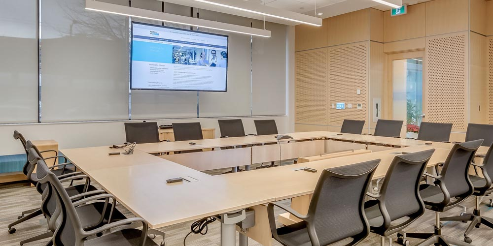 Shure Microflex Wireless for doctors of BC headquarters in Vancouver