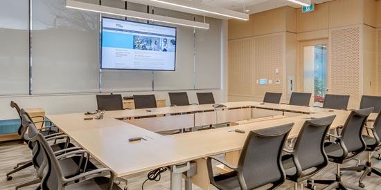 Shure Microflex Wireless in het hoofdkantoor van Doctors of BC in Vancouver
