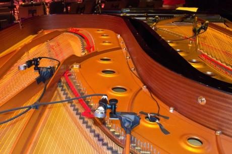 BETA 181を使用している チックとデイブ・グルーシンのピアノ