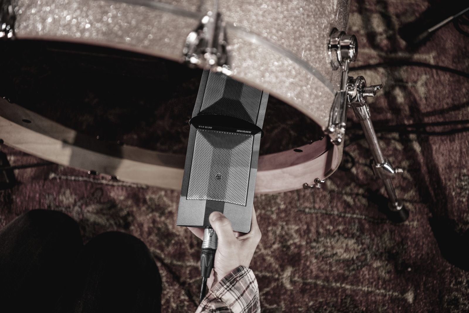 Kick Drum with Beta91A in it