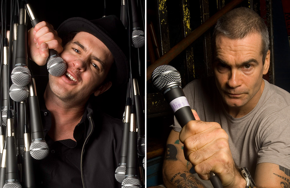 Celebrities Turn the Shure SM58 into an Icon