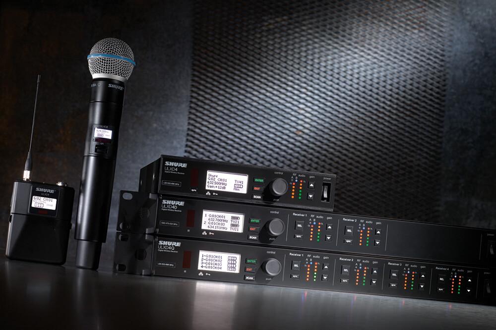 ULX-D Digital Wireless Product Shot