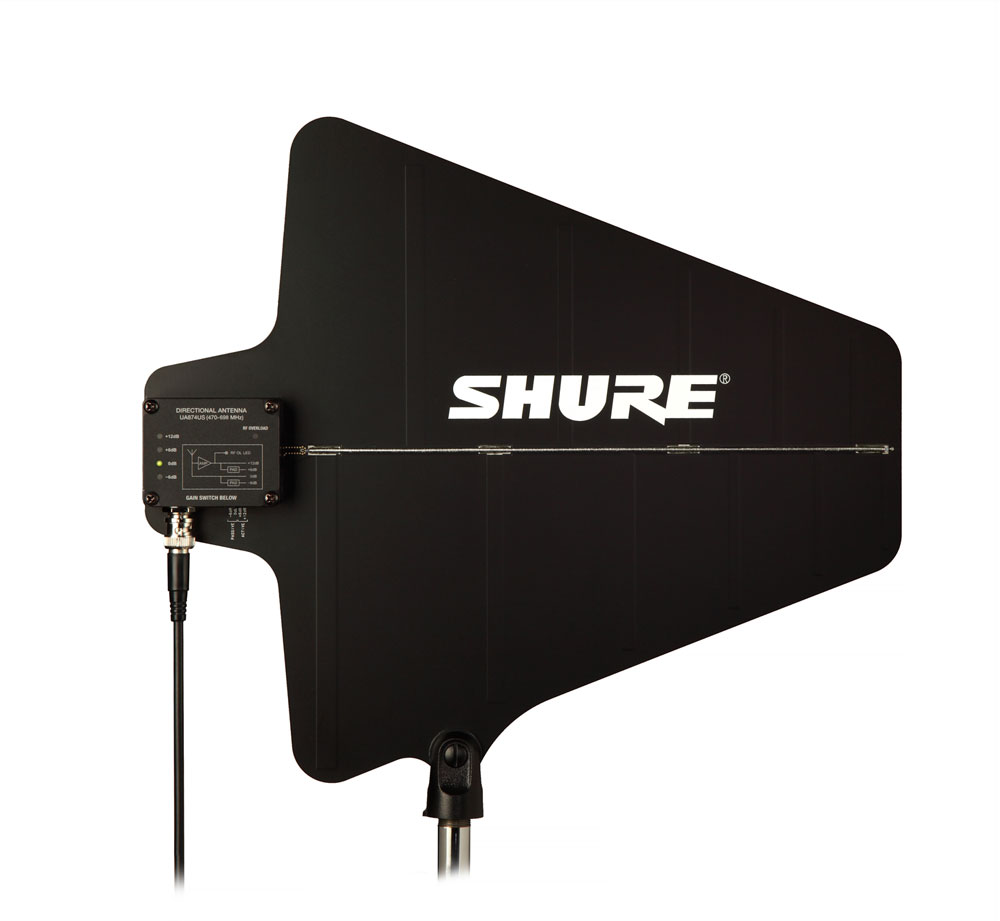 Shure UA874 Active Wideband Log Periodic – an array of five tuned dipoles