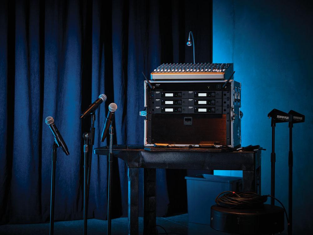 GLX-D Advanced Wireless System on Stage